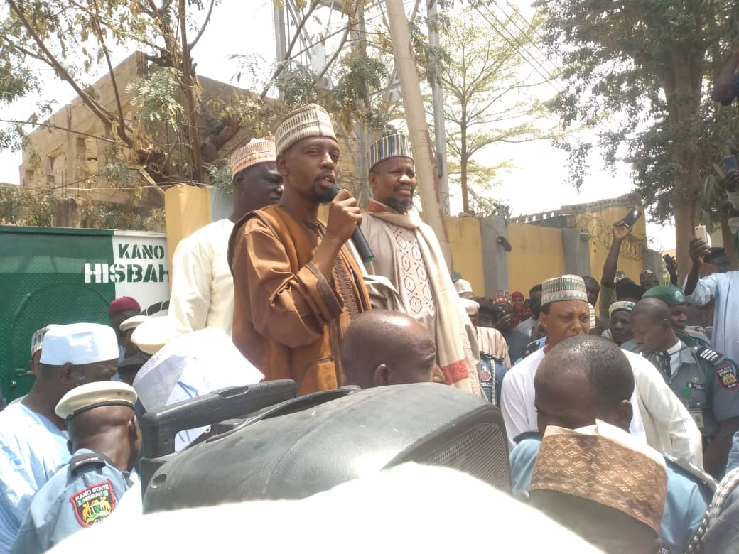 Youths protest in Kano over alleged blasphemy