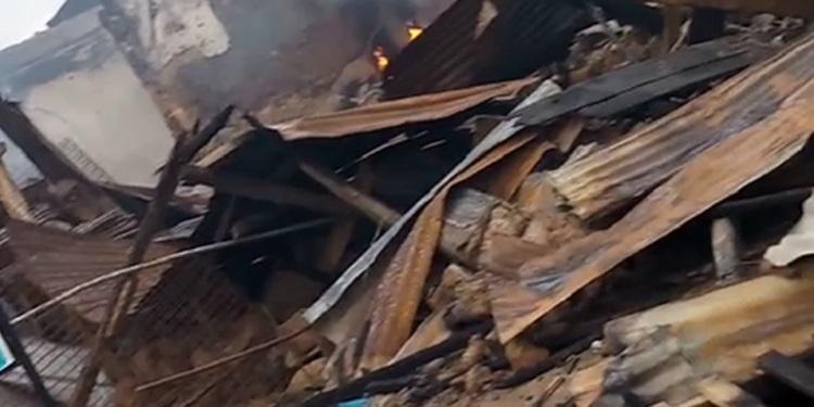 Fire destroys goods in Osogbo