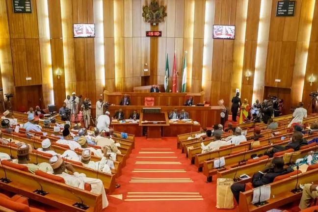Senate emergency closed session