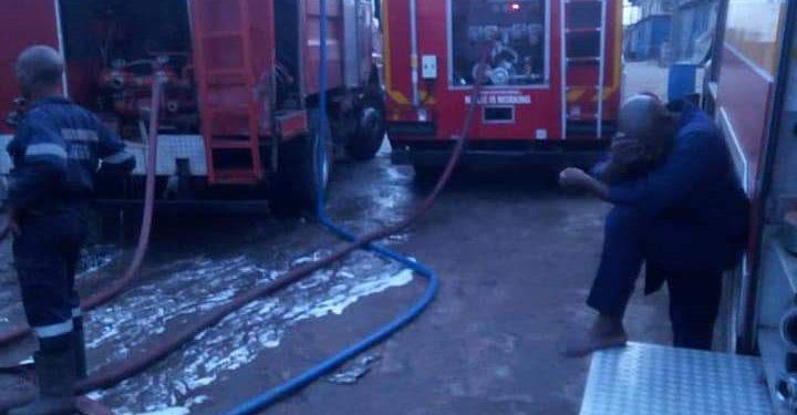 Anambra market fire