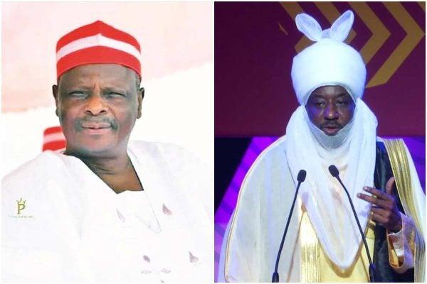 Rabiu Kwankwaso and Emir Muhammad Sanusi