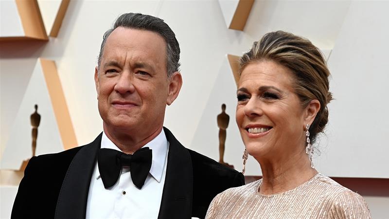 Tom Hanks and wife, Rita Wilson