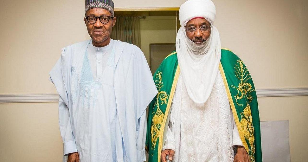 President Buhari and Muhammad Sanusi II