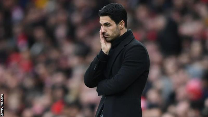 Arsenal Manager, Arteta