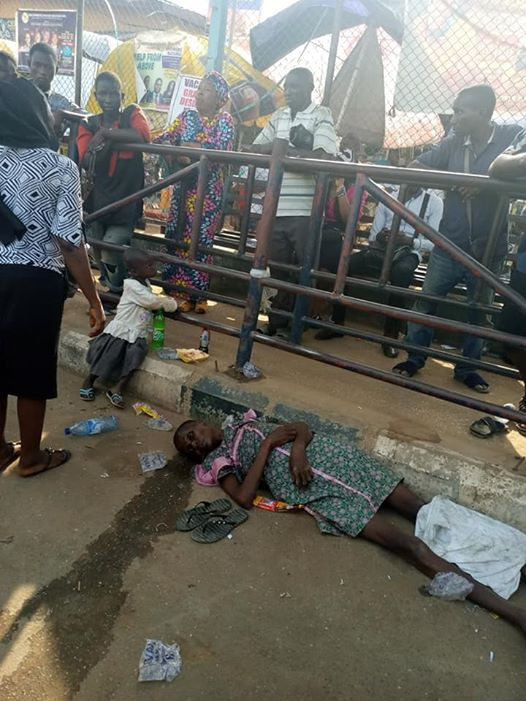 Funmi Ajayi slumped and died at the BRT bus station