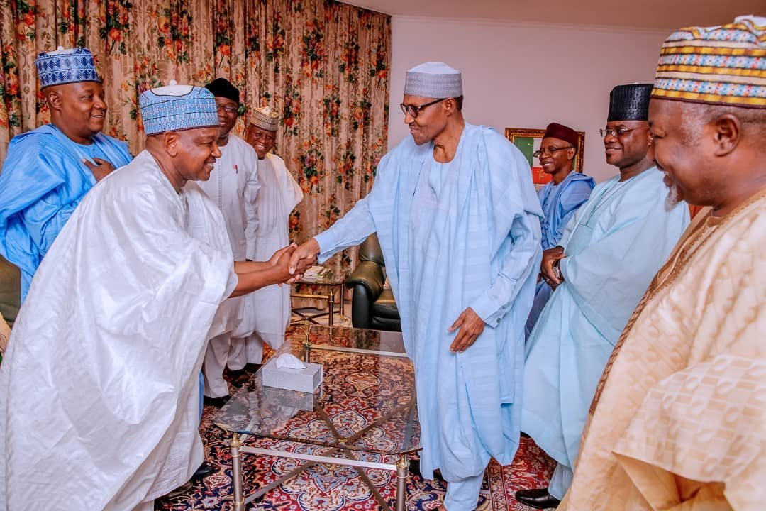APC Governors and Buhari