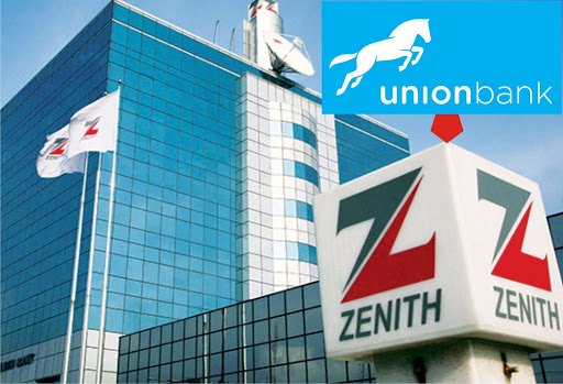 Union Bank and Zenith Bank