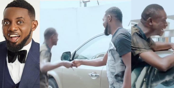 Ay gifts man new car