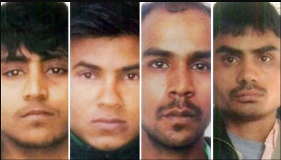 India executes four men