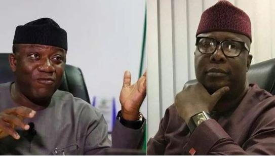 Governor Fayemi and Ojudu