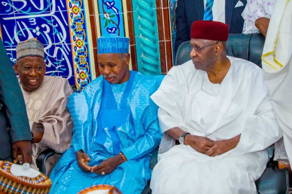 Abba Kyari at the wedding of IGP's son