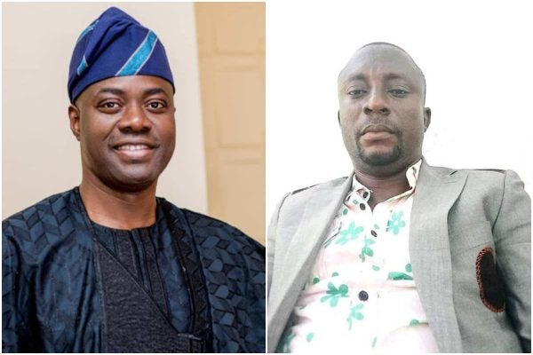 Seyi Makinde has sacked an aide for posting fake news
