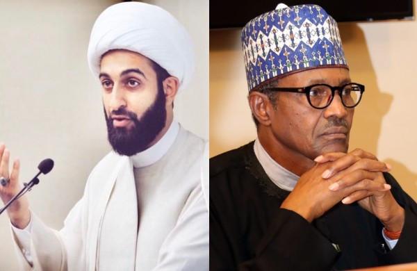 Imam Tawhidi and President Muhammadu Buhari