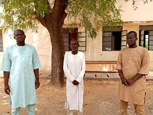 Three men arrested for insulting President Buhari and Governor Aminu Masari