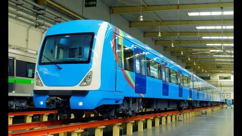 Lagos mass transit trains