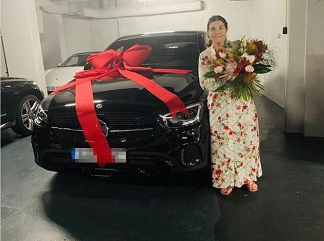 Cristiano Ronaldo gifted his mother a brand new car on Portuguese Mother's Day.