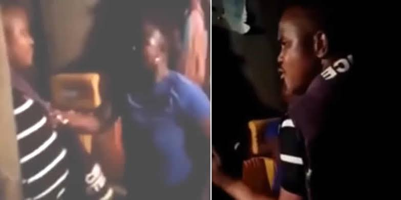 The woman slapped the police officer in Oyo