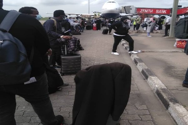 Evacuated Nigerians