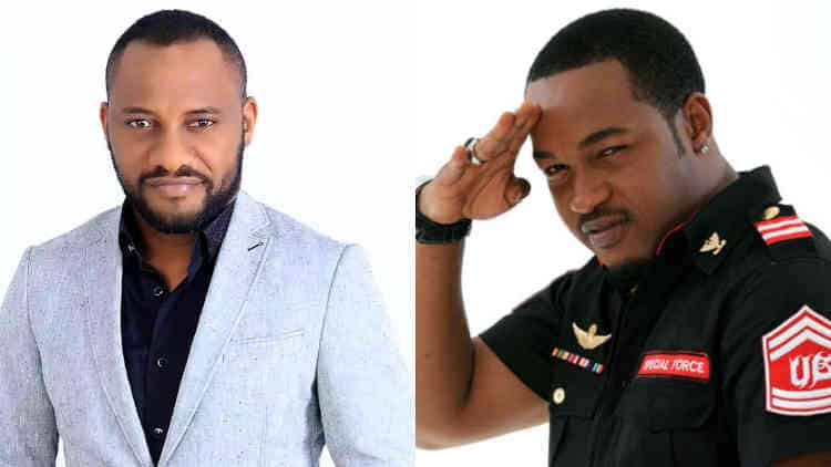 Yul Edochie and Nonso Diobi
