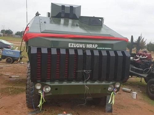 Ezegwu mine-resistant vehicle produced in Nigeria