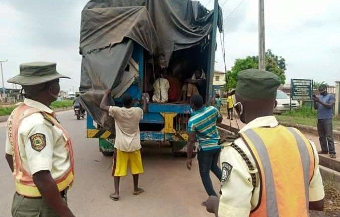Northern youths found hiding inside trailer in Ogun