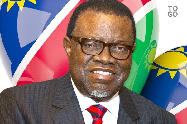 President Hage Geingob of Nambia