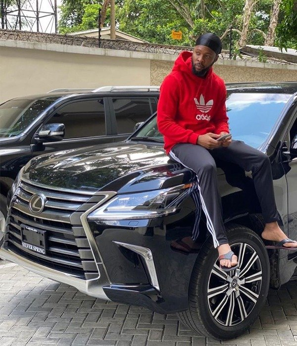 Flavour buys new car