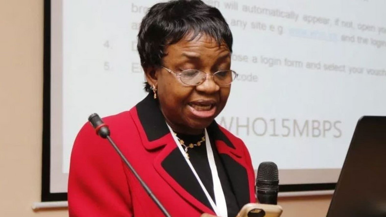 Prof. Mojisola Adeyeye, Director-General, National Agency for Food, Drugs Administration and Control (NAFDAC)