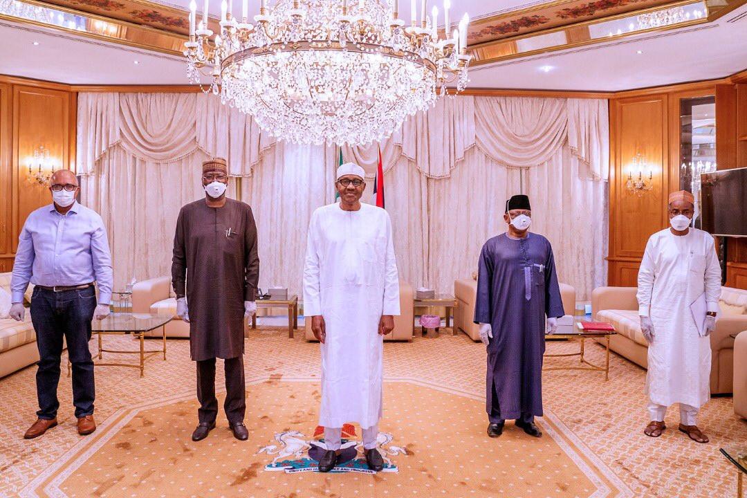Muhammadu Buhari's mask