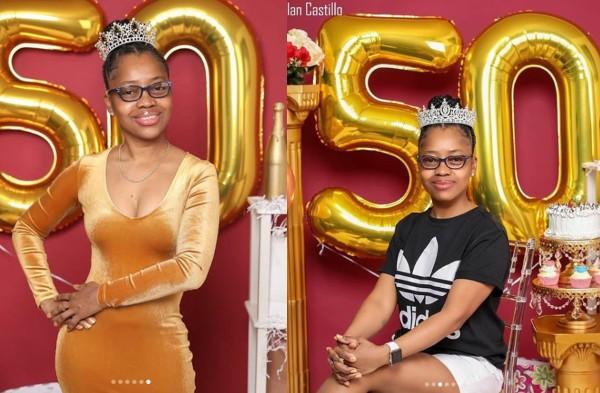 Saida Ramirez shared the photos on her birthday