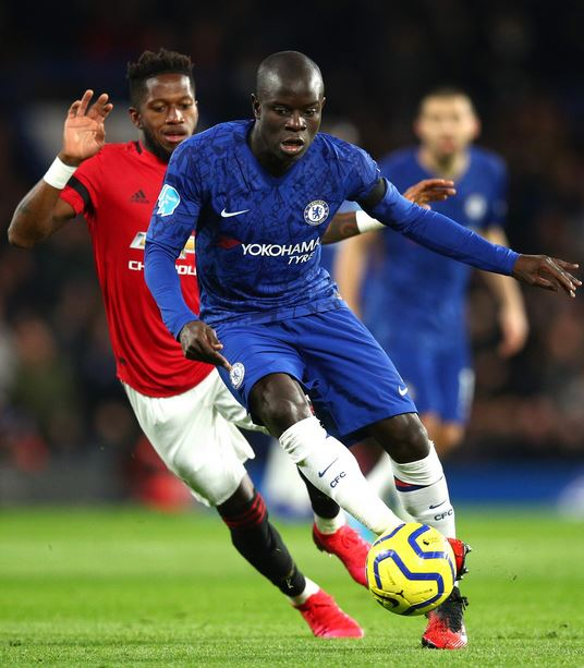 Football Fans In Shock As Chelsea's N'Golo Kante Shows Off ...