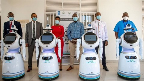 Rwanda acquires robots that can screen 50 to 150 people of coronavirus in 1 minute
