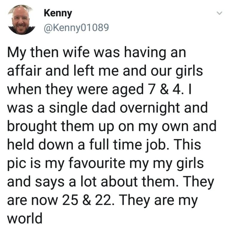 Proud Dad, Proud Dad Reveals How He Raised His Daughters Alone After Wife Left Him For Another Man