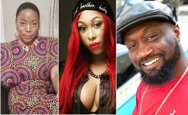 Cynthia Morgan reacted on Instalive to the accusations