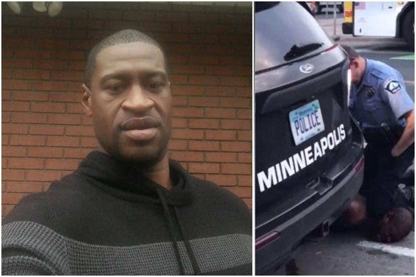 George Floyd was killed by the officer who pinned him on the ground for many minutes