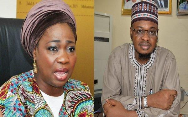 Abike Dabiri-Erewa and Isa Pantami