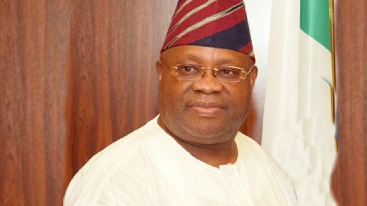 the former governorship candidate of the People's Democratic Party (PDP) in Osun State, Senator Ademola Adeleke.