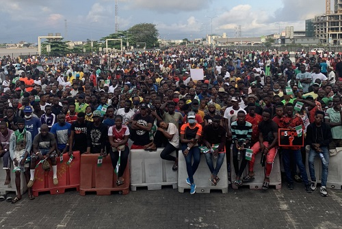 Lekki protesters
