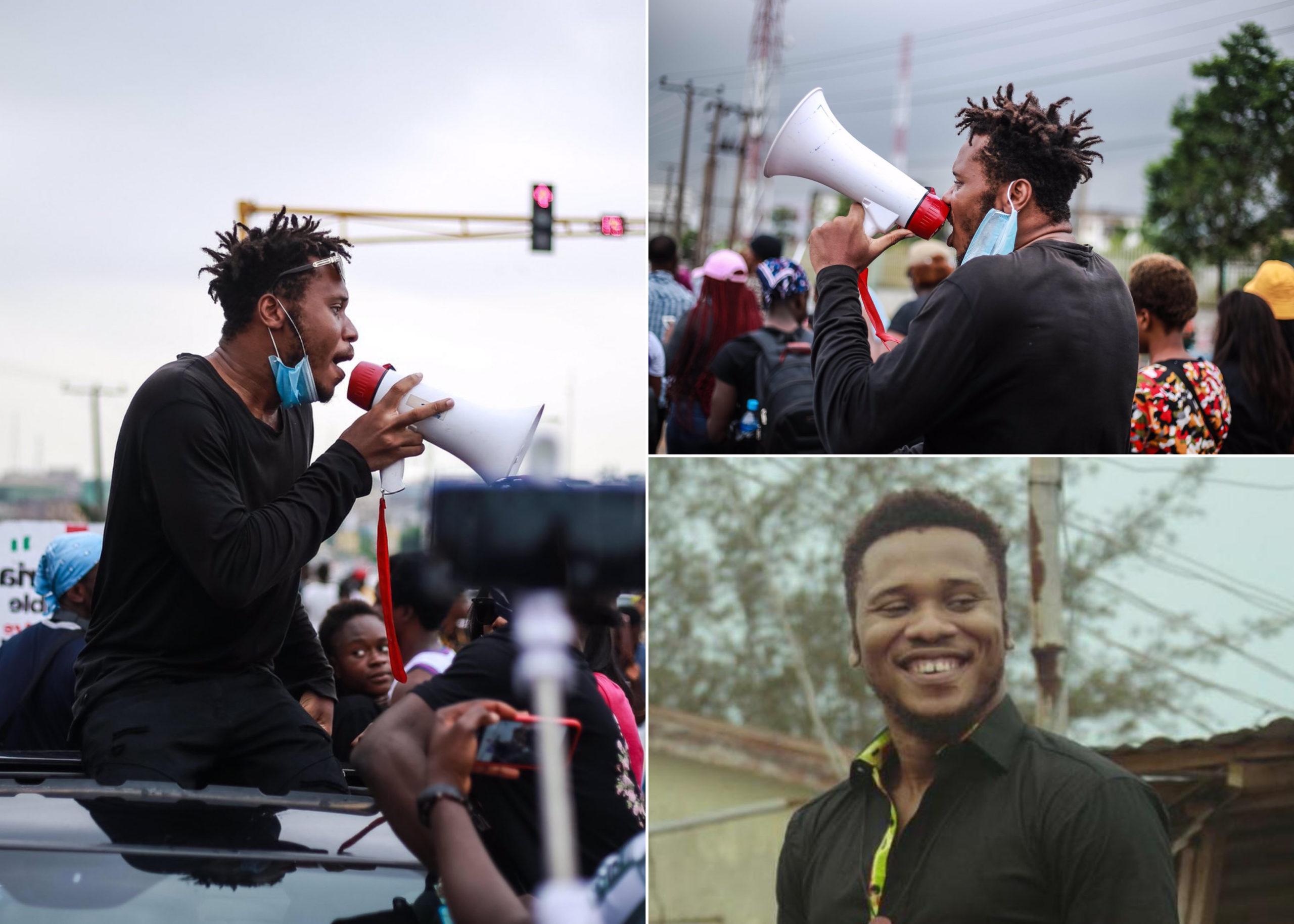 EndSARS protester, Peter Eromosele Adene