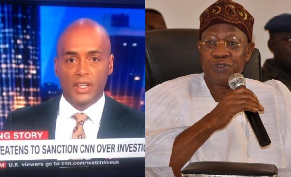 CNN host and Lai Mohammed