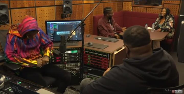 See the Moment Wizkid Tried to Teach Nigerian-British Born Presenter How to Speak Yoruba (Video)