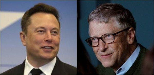 Elon Musk and Bill Gates
