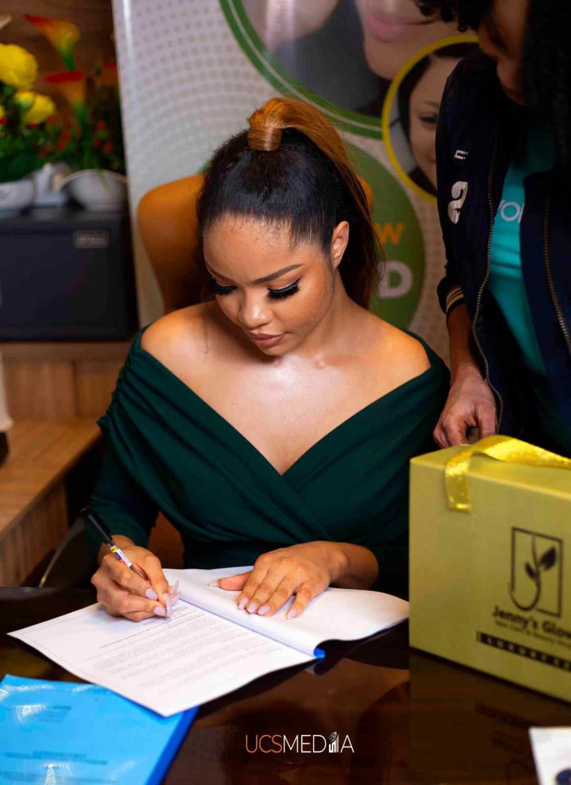 Nengi signs new deal with skincare company