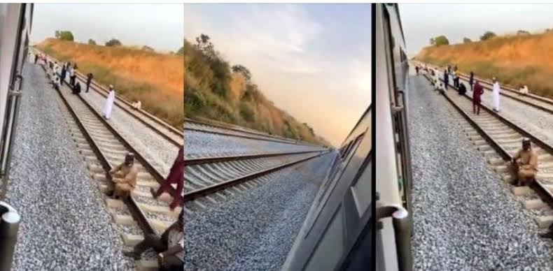 Passengers stranded after train broke down in the middle of nowhere