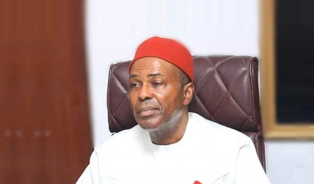 Minister of Science and Technology, Dr Ogbonnaya Onu