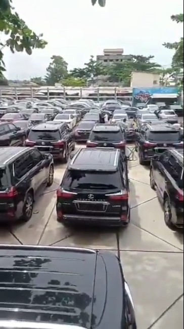 The alleged cars FG bought for lawmakers