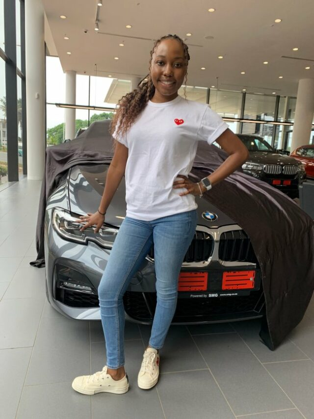 Sindiswa Dube gets new car after bagging a master's degree