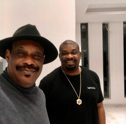 Don Jazzy and his father
