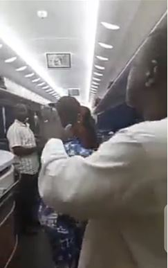 Train passengers complain after it broke down in the bush