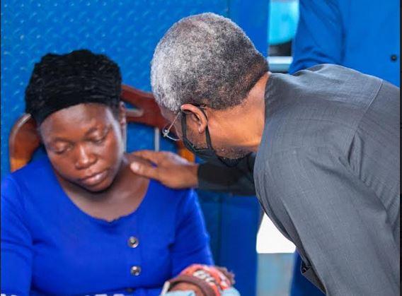 Josephine Okereke disowned her husband's family for demanding N500m from Gbajabiamila